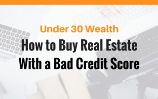 buy real estate bad credit