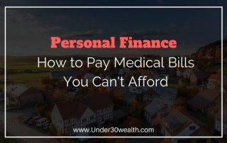 Medical bill debt relief tips