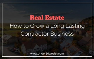 how to grow a contractor business